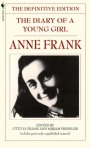 The Diary of a Young Girl: Anne Frank — Book Cover